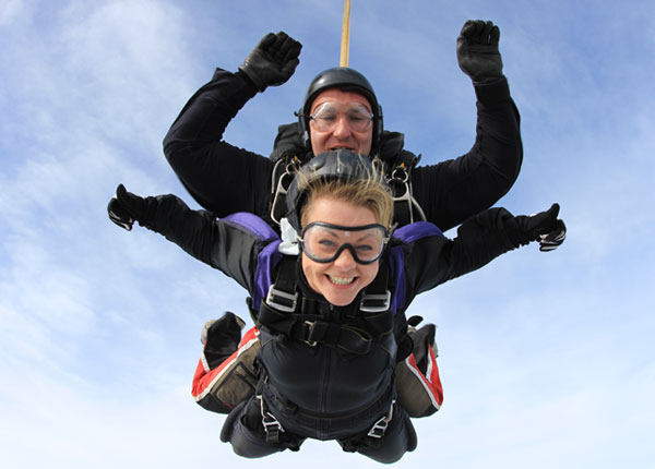 Nashville Skydiving Gift Certificates
